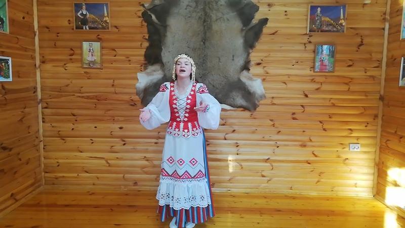 Воропаева Ефросинья г Могилев Беларусь 12 14 лет Вокальное творчество Народный вокал