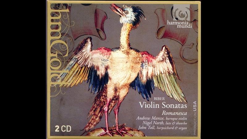 Romanesca, Andrew Manze - Biber Violin Sonatas (1994)