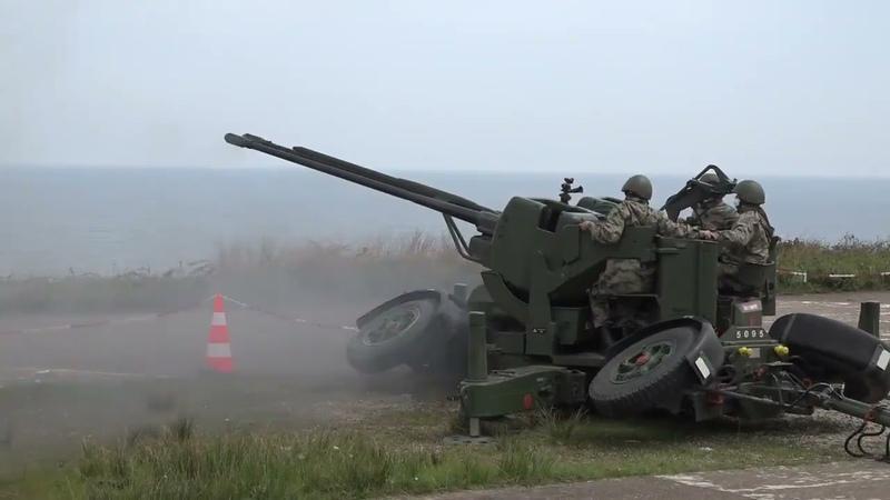 Türk Silahlı Kuvvetleri, L-70 ve Oerlikon Kurs Sonu Eğitim Atışları icra etti