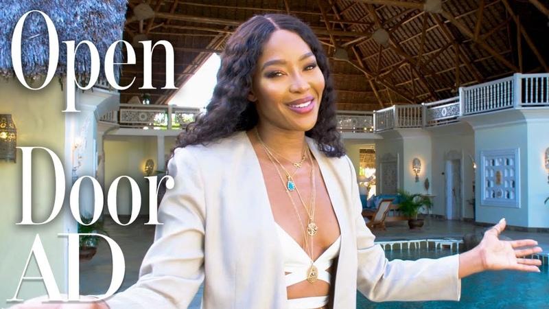 Inside Naomi Campbell's Luxury Villa In Kenya Open Door Architectural Digest