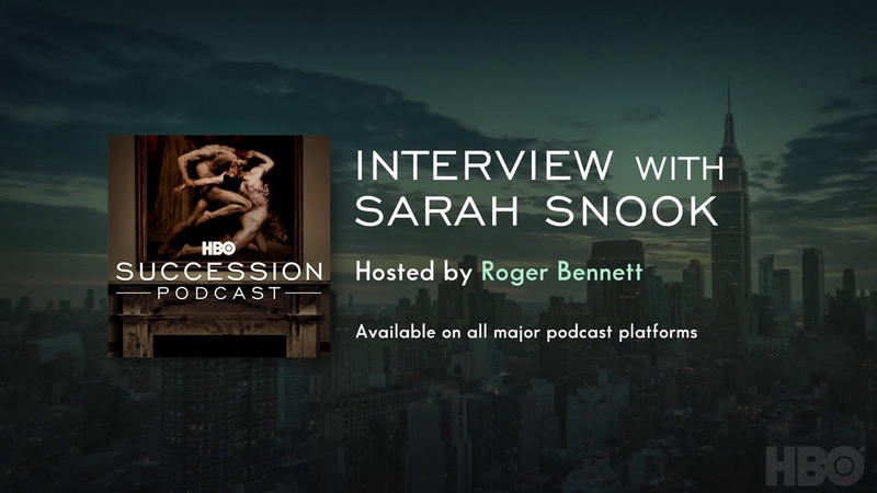 Succession Podcast Interview with Sarah Snook HBO
