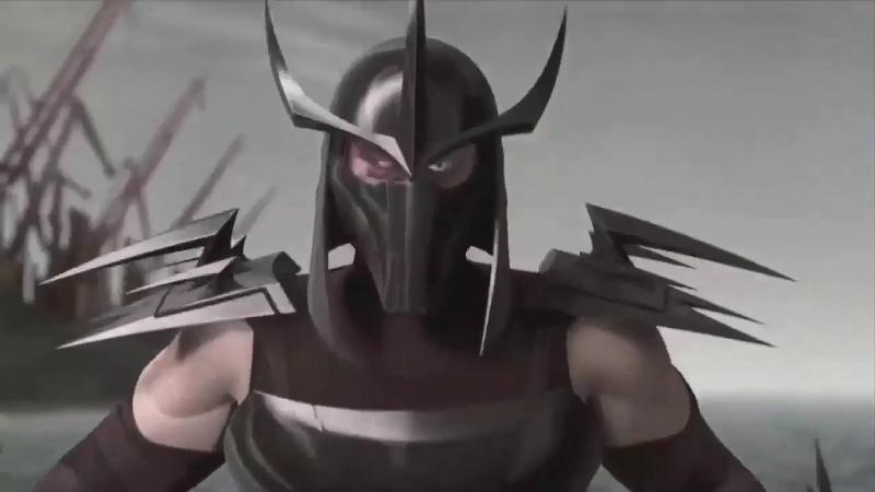 Клип про Шреддер (All de Rage x Meth Brat - Manhunt) Черепашки - Ниндзя 2012