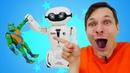 YCOO Робот макробот - крутой игровой набор для мальчиков! Новое видео про игры в игрушки мальчикам