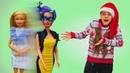 Видео для девочек Кукла Барби заколдована! Салон красоты - игра с play doh образ Медузы Горгоны!