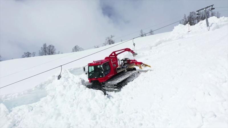 Mykje snø mykje jobb