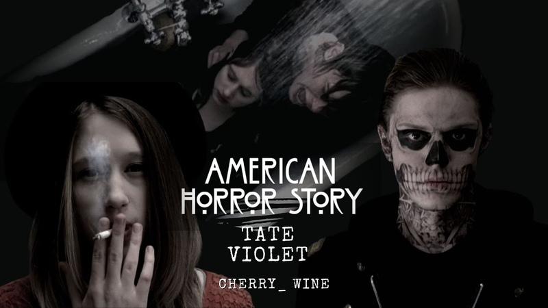 American Horror Story Tate Violet Американская история ужасов