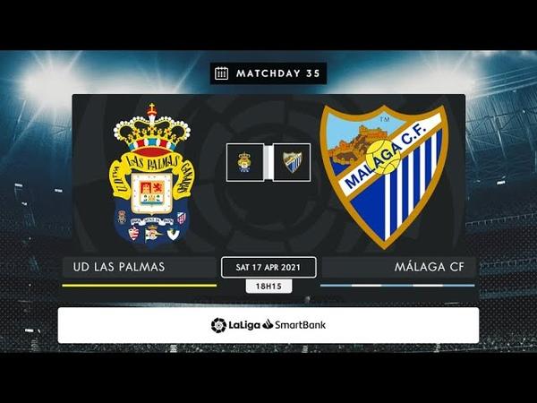 UD Las Palmas - Málaga CF MD35 S1815