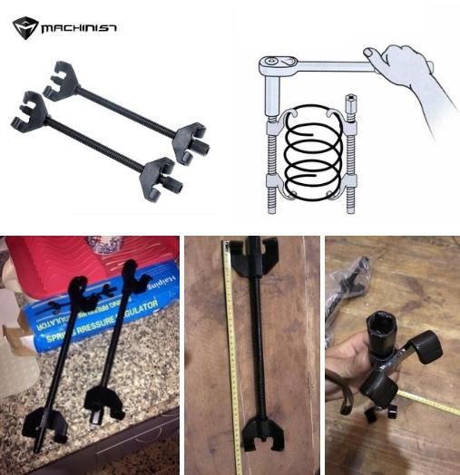 Инструмент для сжатия пружин