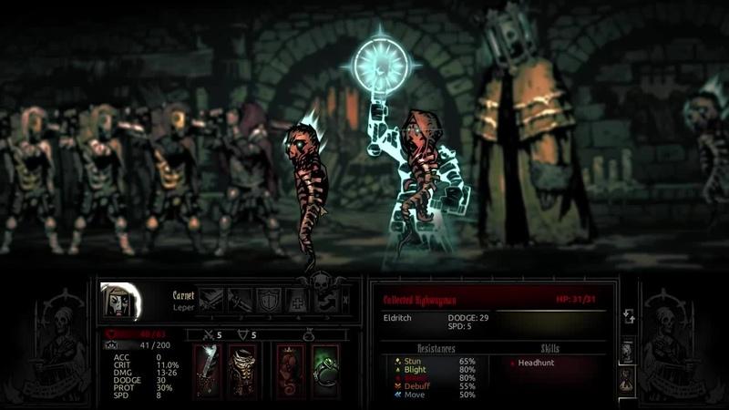 Darkest Dungeon Quad Leper · coub коуб