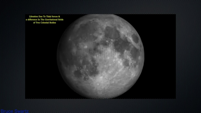 Lunar Structures Parallax Libration Coronal Mass Ejections Live Telescope Footage