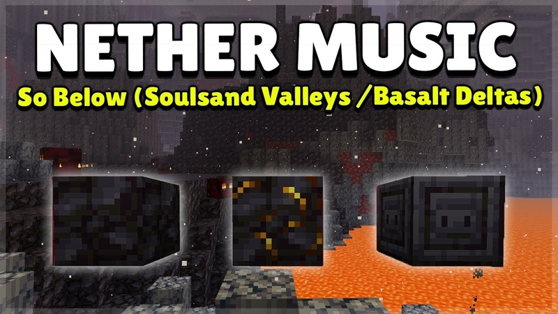 Minecraft 1 16 Nether Music Basalt Delta Soulsand Valley So Below by Lena Raine 1 Hour Version