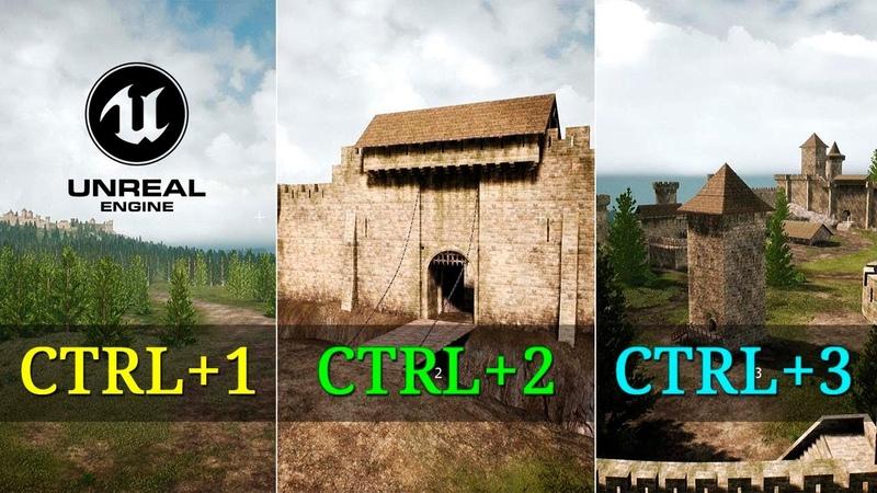 UE4 контрольные точки для камер быстрый совет Unreal Engine 4 уроки