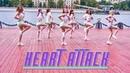 K-POP IN PUBLIC AOA - 심쿵해 Heart Attack dance cover by DEADSTAR one take