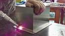 Лазерная сварка нержавеющей стали вручную