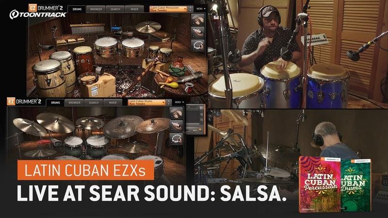 Latin Cuban EZXs – Live at Sear Sound Salsa