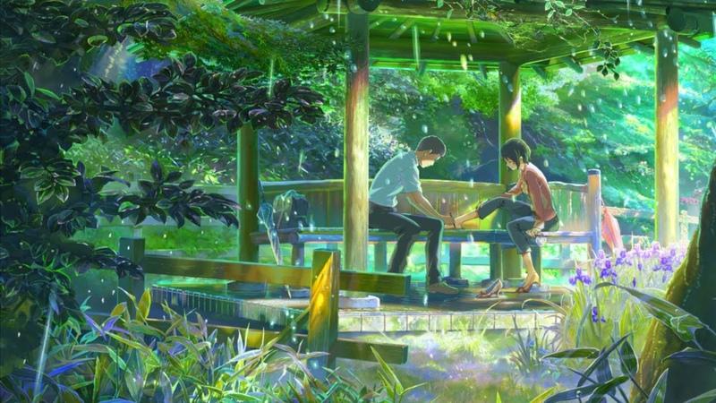 Сад изящных слов (Kotonoha no Niwa) | Кукрыниксы - Дождь смывает всё! | AMV