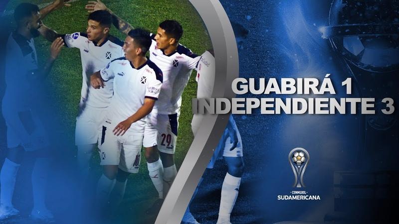Guabirá vs. Independiente [1-3]   RESUMEN   Fecha 1 - Fase de Grupos   CONMEBOL Sudamericana 2021