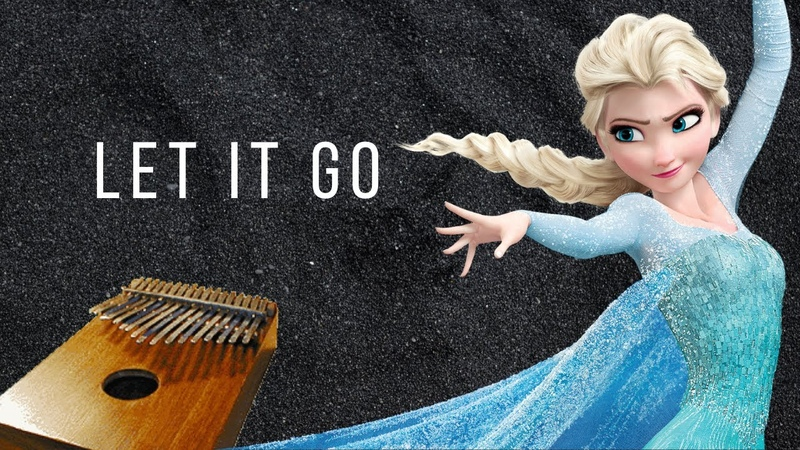 【EASY Kalimba Tutorial】 Let It Go by Idina Menzel from Frozen