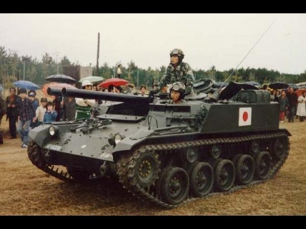Японская противотанковая САУ «Тип 60»