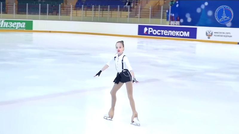 Дарья САРЫМСАКОВА КП 13.3.2021 Всероссийские соревнования Мемориал С.А. Жука(Саранск)