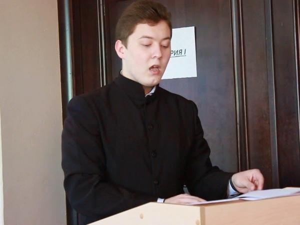 Кирилло Мефодиевские чтения 16 05 19 Анненков Михаил