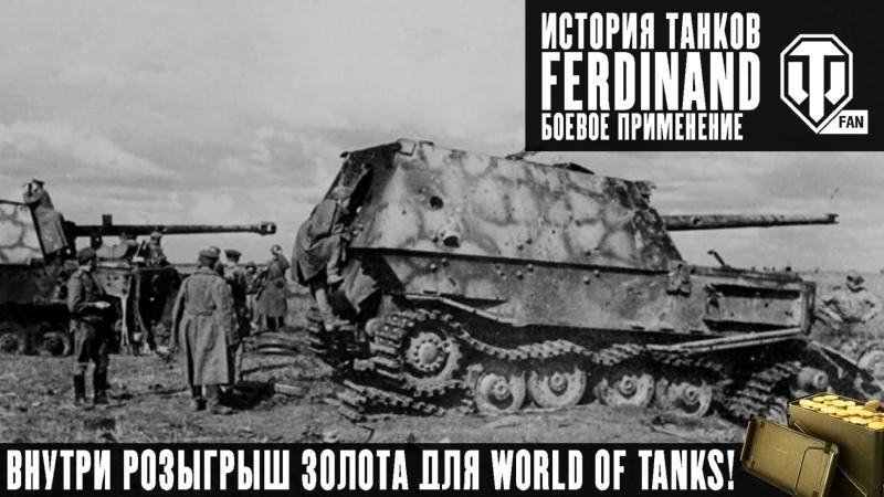 Ferdinand На Курской дуге и немного после