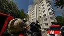 Полыхает крыша еврейского дома. Real video