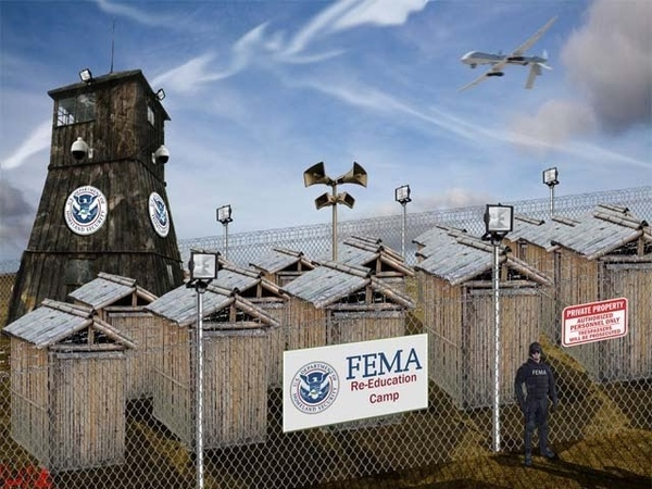 I Campi della FEMA in USA