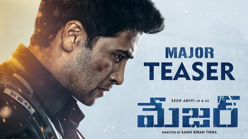 Major Teaser Telugu Adivi Sesh Sobhita Saiee Manjrekar Mahesh Babu Sashi Tikka