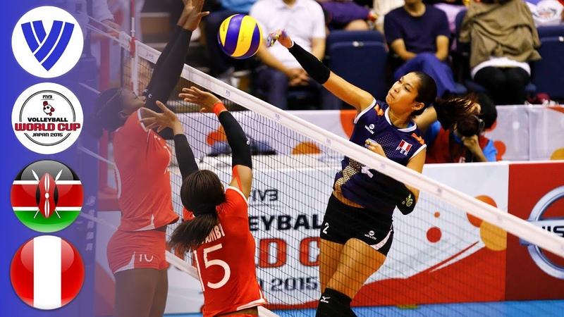 Kenya vs Peru Full Match Women's Volleyball World Cup 2015