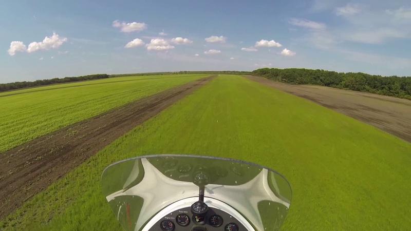 Воздушный пейнтбол 1а. Gyroplane Flying