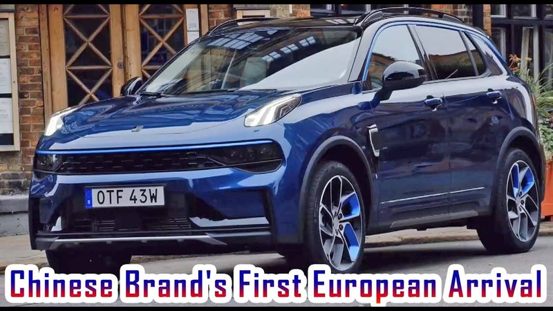 2021 Lynk Co 01 SUV Chinese Brand's First European Arrival