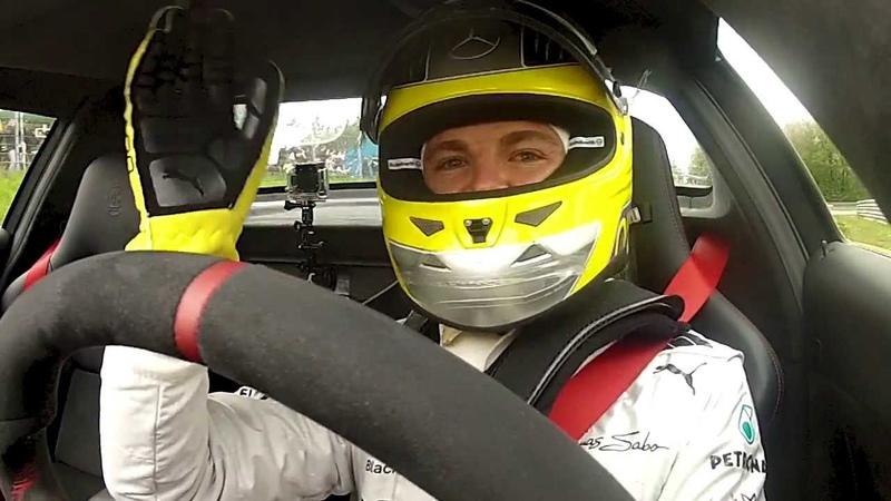 Nico Rosberg Michael Schumacher Bernd Schneider Nordschleife AMG Driving performance 2013