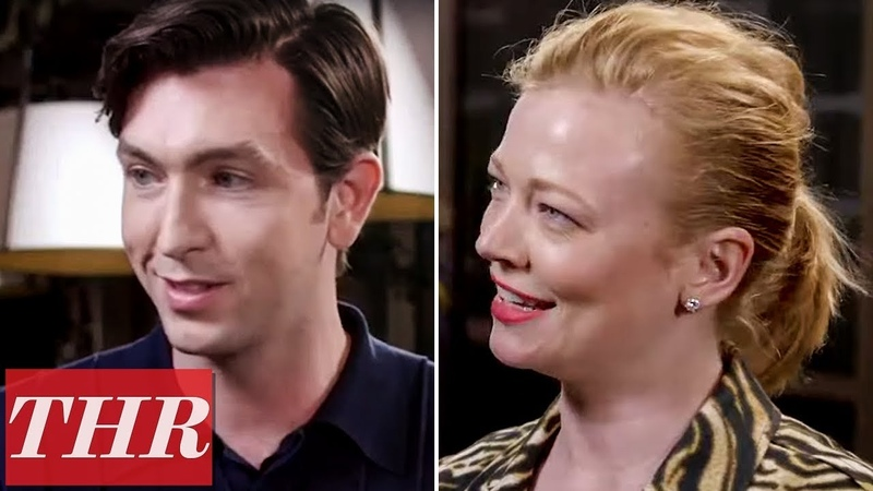 Nicholas Braun Sarah Snook on Success of 'Succession ' Its Complexity More Emmy Noms Night