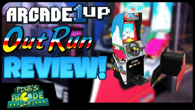 Arcade1Up OutRun Seated Arcade Cabinet Review