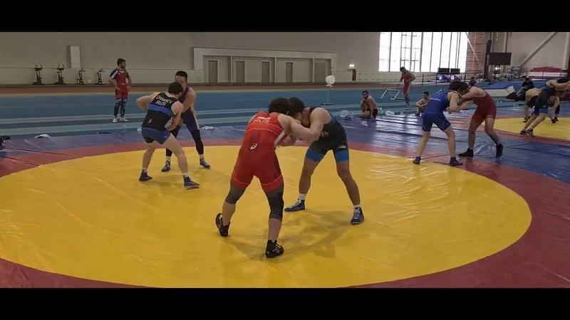 Разамбек Жамалов против Курбана Шираева | Схватка на сборах 2021