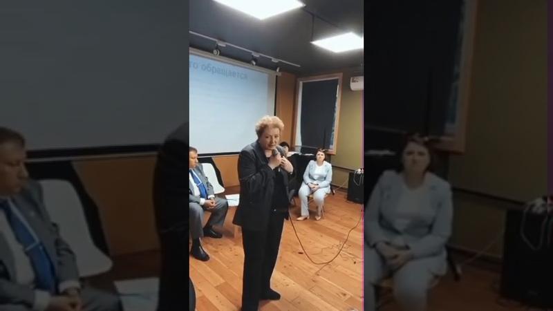 Фрагмент встречи с представителями Уполномоченного по правам человека. Выступление Алексана