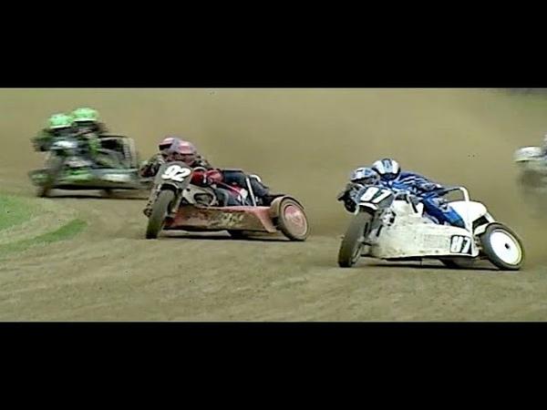 Fantastic Grasstrack 1000cc Sidecar Race