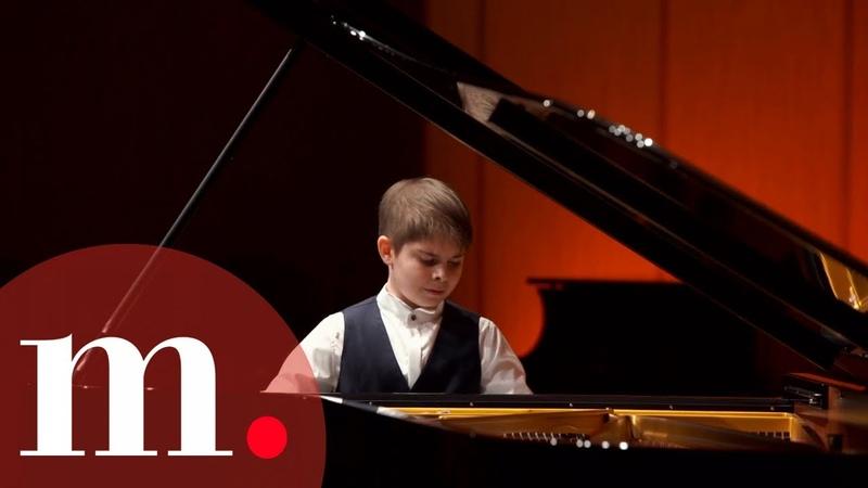 Grand Piano Competition 2021 Россия Round 1 Nikolay Biryukov 12 years old