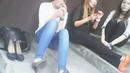 3 girls spitting AND smoking - 3 Mädchen spucken und rauchen