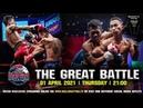 Турнир Muay Thai Battle, 01.04.21, все бои