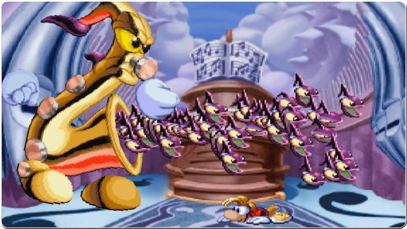 Rayman Redemption Band Land MR Saxs Hullabaloo