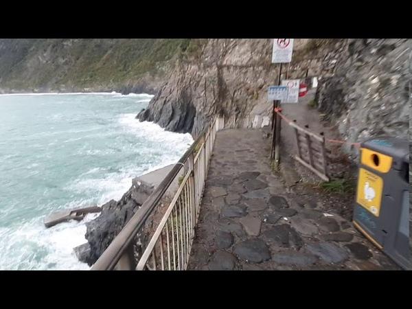 Италия Cinque Terre Manarola Liguria часть 2 visit UNESCO ottobre 2020