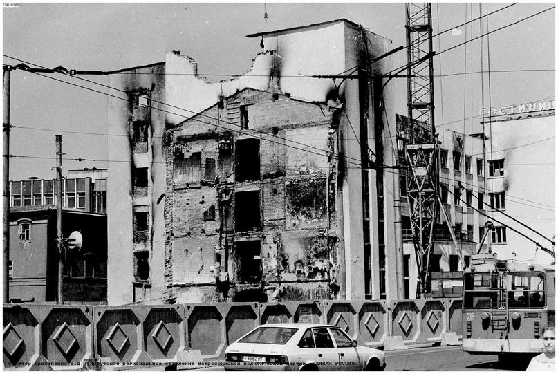 """Пожар в гостинице """"Сибирь"""". Фотоподборка (до и после), изображение №10"""