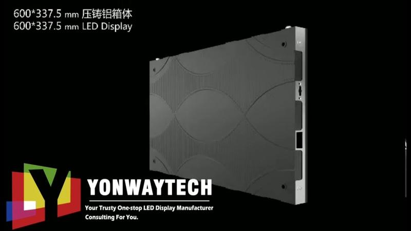 Super Slim HD Narrow Pixel Fine Pitch LED Screen LEDTV LEDPOSTER in command security studio center