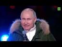 Поздравление президента с 7-ми летием возвращения Крыма домой.