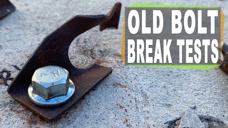 Leeper and Welded Cold Shut Old Climbing Hanger Break Tests