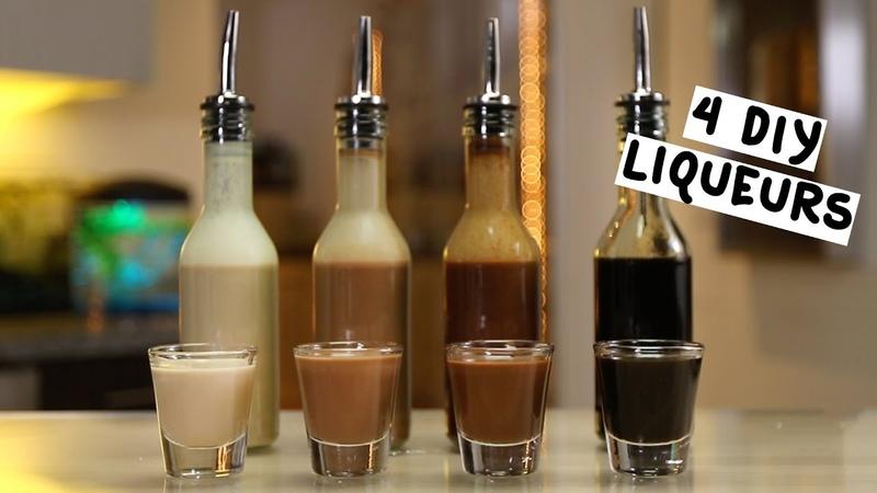 Four DIY Liqueurs