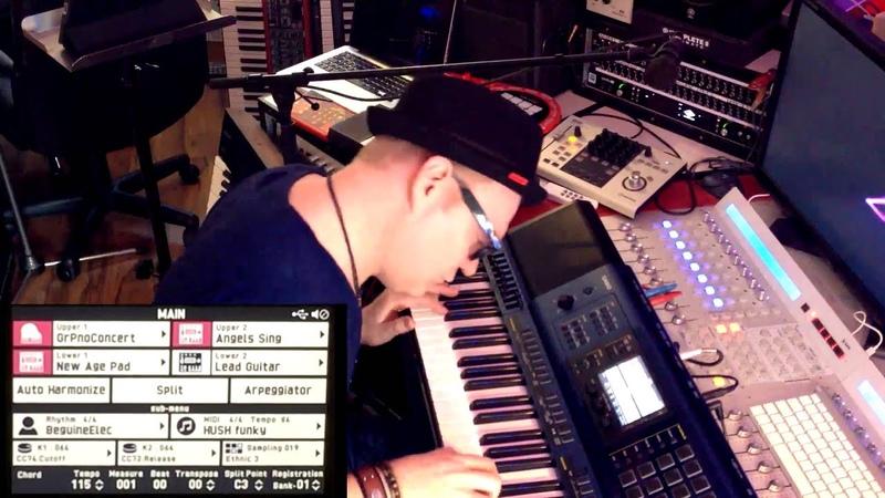 Sound overview CASIO MZ X500 Übersicht Soundbeispiele