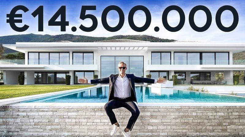 Inside IBIZA BREEZE a €14 5 Million Modern Villa in Zagaleta Marbella Drumelia House Tour 1